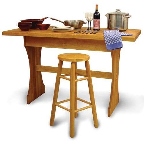 30 Inch High Craftsmen Harvest Table