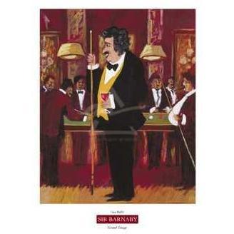 Sir Barnaby Poster Print