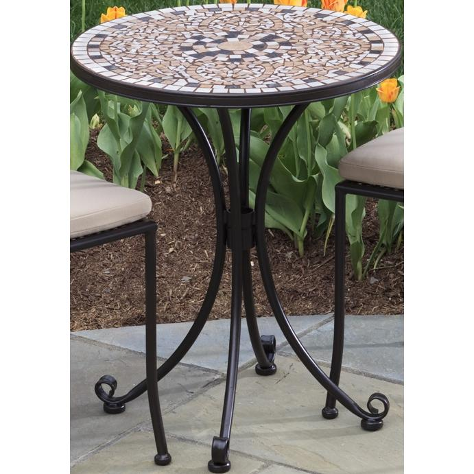Alfresco Home Lipari 24 Inch Round Bistro (Top & Base)
