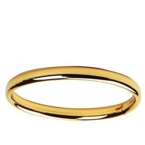 Elegant Baby Infant Gold Solid Band Bangle Bracelet