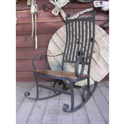 Groovy Stuff Furniture Groovy Stuff Teak Wood Ironhorse Rocking Chair - Tf-755 at Sears.com