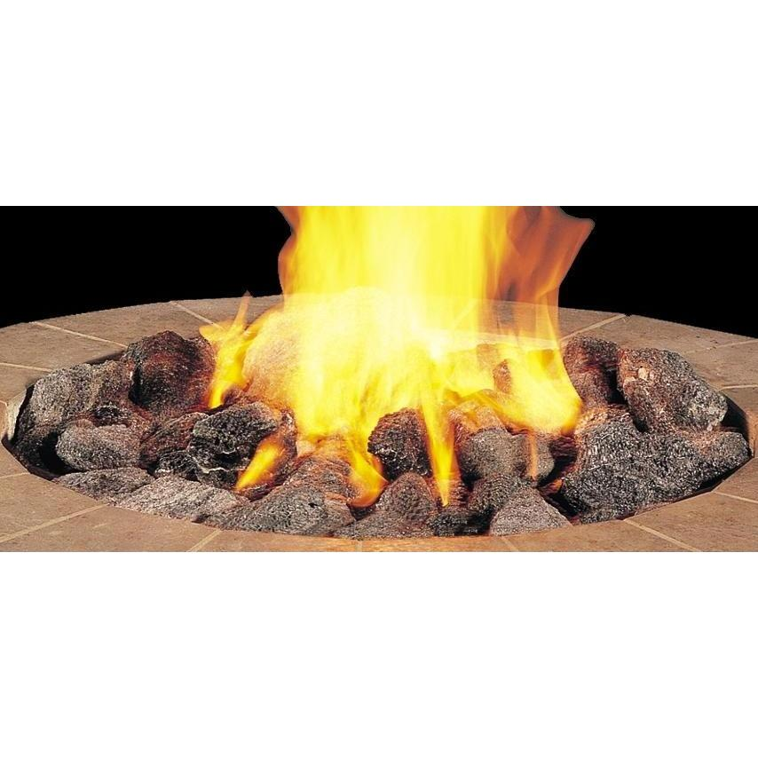 Peterson Gas Logs Assorted Volcanic Stones - 25 LB. Box