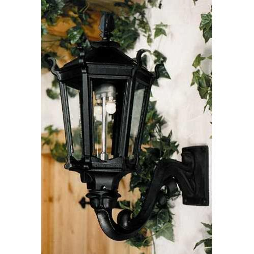 Gaslite America GL900 Cast Aluminum Manual Ignition Natural Gas Light With Dual Mantle Burner And Standard Wall Mount