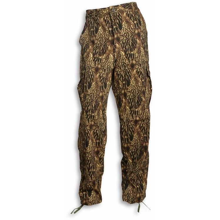 Feather Flage Duck Feather Camouflage 6 Pocket Pant 8oz Cotton With Reactive Dye - 2XL