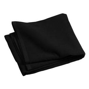 Port & Company Beach Towel - Black