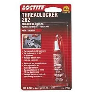 Loctite 262 Threadlocker High Strength - 6ml Tube