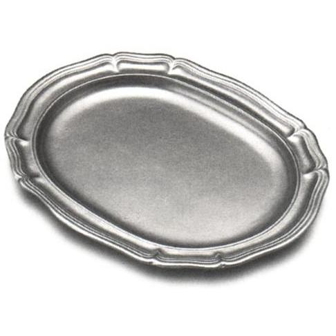Wilton Armetale Country French Large Oval Tray/Matte