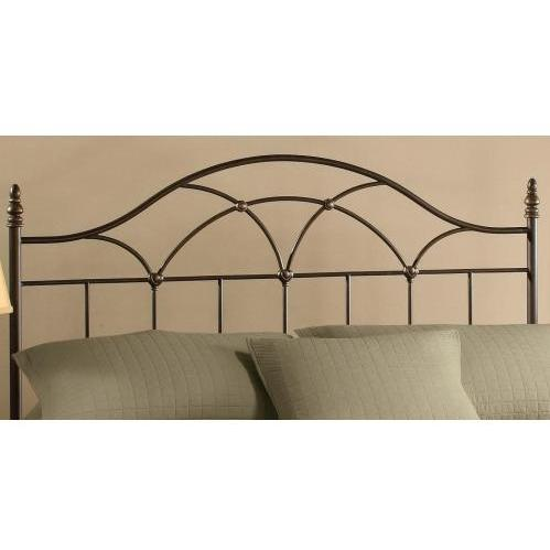 Hillsdale Aria Brown Rust Metal Headboard Without Frame - King - 1473-670