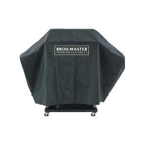 Broilmaster Full Length Premium Grill Cover For P, H, And R Series Grills On Cart With Two Side Shelves