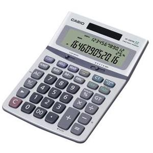 3-LINE SOLAR DESKTOP CALCULATOR WITH 12-DIGIT DISPLAY
