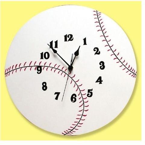 Trend Lab Wall Clock - Baseball