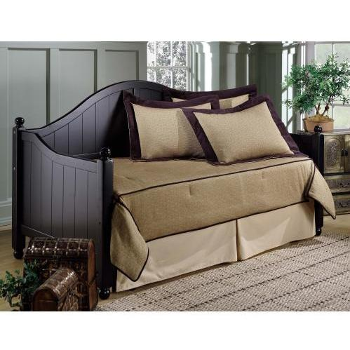 Picture of Hillsdale Augusta Daybed With Suspension Deck And Trundle Black - 1399DBLHTR