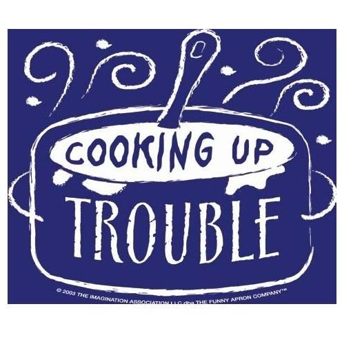 Cooking Up Trouble Apron And Chef Hat - Child Size