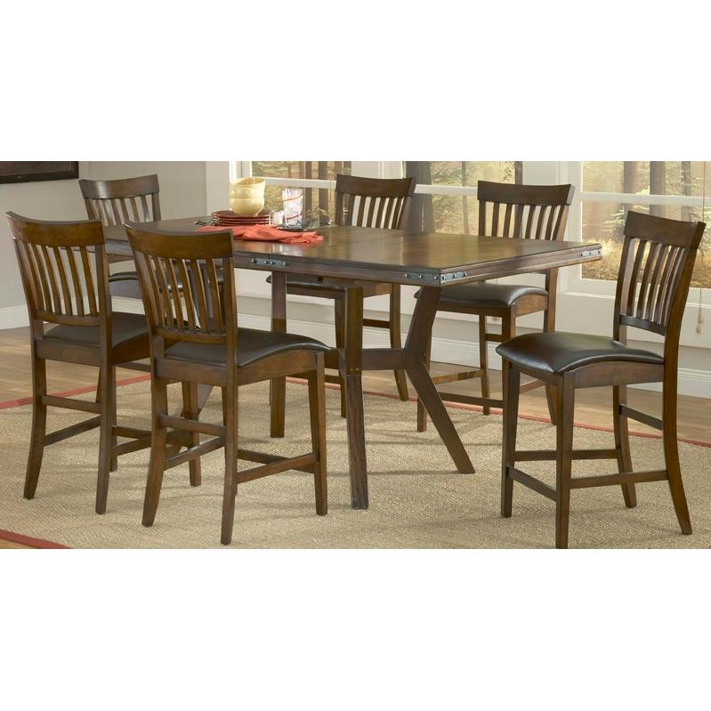 Hillsdale Arbor Hill Counter Height Dining Set 7 Piece - 4232GTBS7