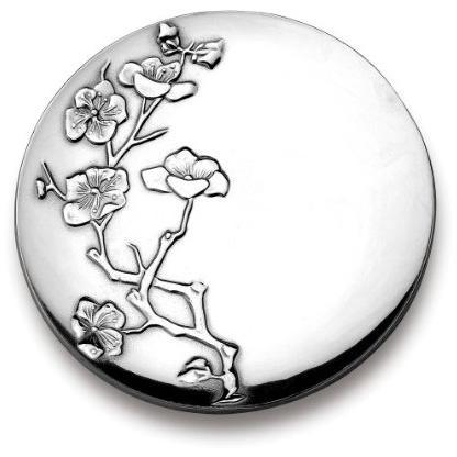 Wilton Armetale Cherry Blossom 12 Round Tray - Polished - 462004