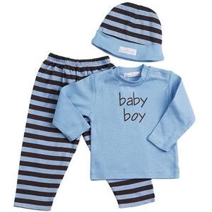 Elegant Baby Baby Boy 3-Piece Clothing Set - 12 Month