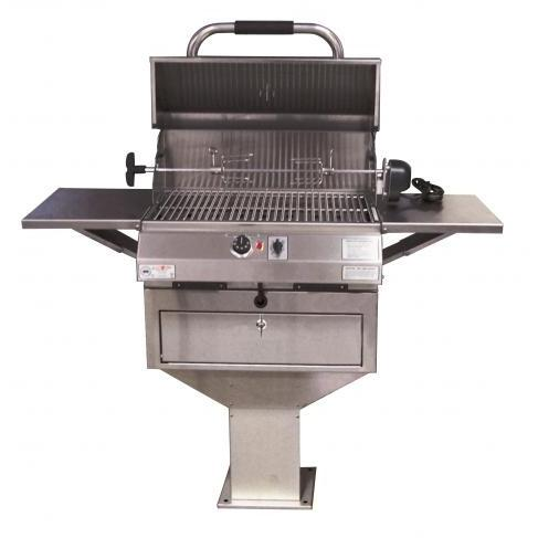 Electri-Chef 24 Inch Pedestal Base 4400 Series Electric Grill