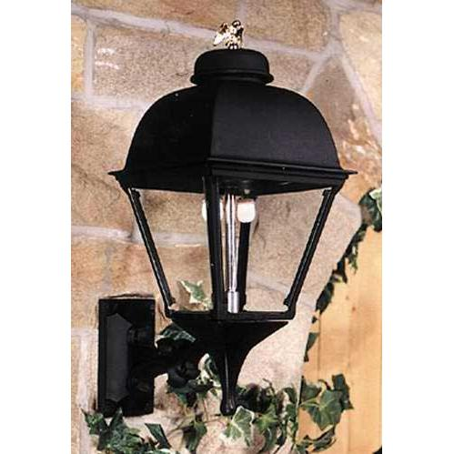 Gaslite America GL2000 Cast Aluminum Manual Ignition Natural Gas Light With Dual Mantle Burner And Standard Wall Mount