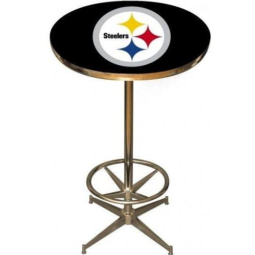 Imperial International Pittsburgh Steelers Pub Table