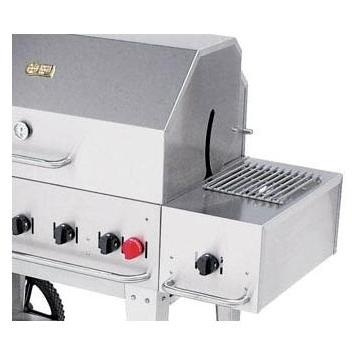 Crown Verity Propane Gas Side Burner For Cart Model Grills