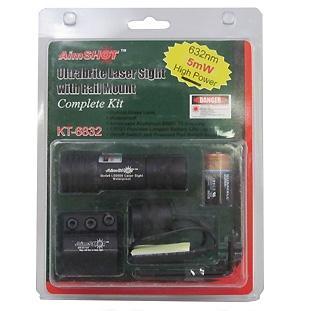 Aimshot Red Laser Kit For Rifle