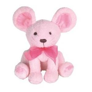 Millie Mouse Plush Rattle W/ Chime