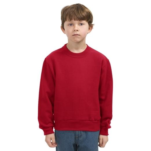 Jerzees Youth Crewneck Sweatshirt Large - True Red
