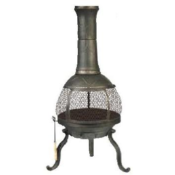 Kay Home Products Sonora Cast Iron Chimenea Without Rain Cap