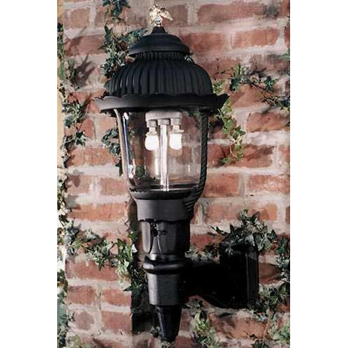Gaslite America GL1700 Cast Aluminum Manual Ignition Natural Gas Light With Dual Mantle Burner And Standard Wall Mount