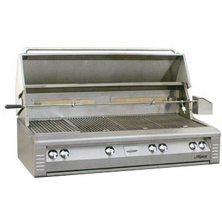 Alfresco AGBQ Classic 56 Inch Natural Gas Grill Built In With Sear Zone And Rotisserie