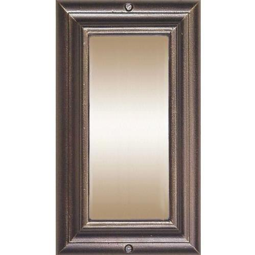 Edgewood French Bronze Vertical Lighted Address Plaque