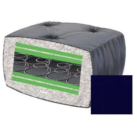 10 Inch Blazing Needles Innerspring Futon Mattress - Navy - DS-9651 - Navy