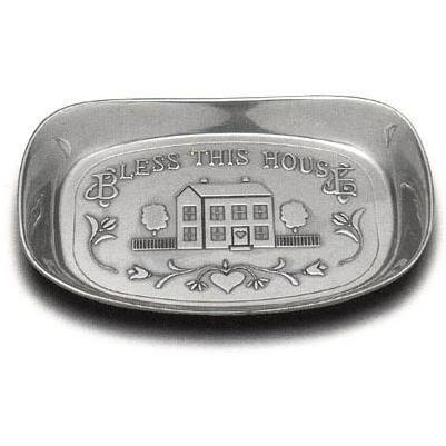 Wilton Armetale Bless This House Small Bread Tray