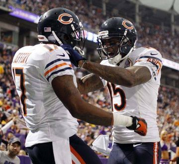 Alshon Jeffery and Brandon Marshall