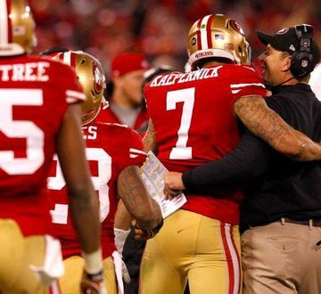 Colin Kaepernick and Jim Harbaugh
