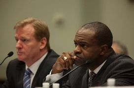 Roger Goodell and DeMaurice Smith