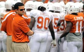 Manny Diaz1 Texas may have to lean on its defense