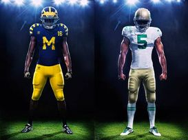 Michigan and Notre Dame