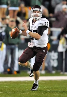 "Texas A&M QB RYAN TANNEHILL now the ""hot"" name in the NFL Draft ..."