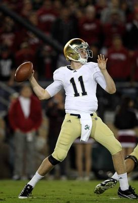 Tommy Rees on Tommy Rees Has Been Suspended For Notre Dame S Opener Against Navy