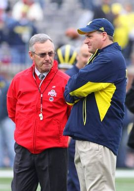 Jim Tressel and Rich Rodriguez
