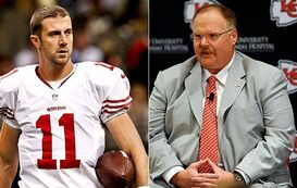 Alex Smith and Andy Reid
