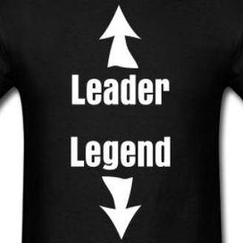 Leader and Legend t-shirt