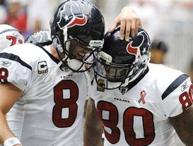Matt Schaub & Andre Johnson