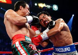 Juan Manuel Marquez and Manny Pacquiao