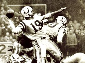 unitas Seven events that shaped todays NFL