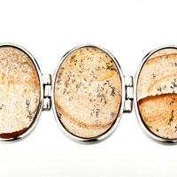 New Year Deals - CLASSIC OVAL YELLOWISH STONE BRACELETS alternate image 1.