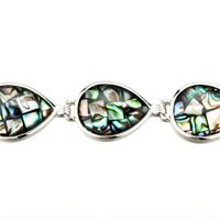 New Year Deals - COLOR MOSAIC PATTERN DROP SHELL BRACELETS alternate image 1.