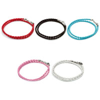 Charms Beads - SNAKE CHARMS SNAKE CHAINS SNAKE BRACELETS ROSE PINK LEATHER BRACELET alternate image 4.