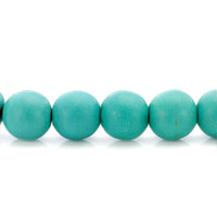 Bracelets - GENUINE TURQUOISE GEMSTONE CHUNKY STRETCH BRACELET alternate image 1.